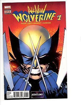 All-New Wolverine #1 (2016) Nm/nm+ X-23 As Wolverine! Taylor Lopez Movie Rumour!