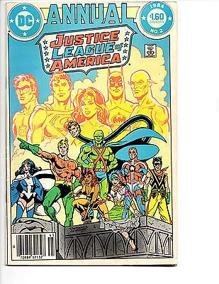 Justice League Of America Annual #2 Vf 1St Appearance Vibe! Flash Tv Show