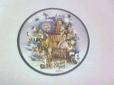 SYDER BAY  From SINGHA BEER  - Beermat / Coaster - BE ON YOUR OWN SUN
