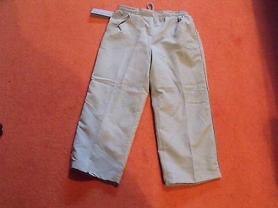 3/4 Length Joggers - Age 11 - 12 Years By La Gear (Nwt)