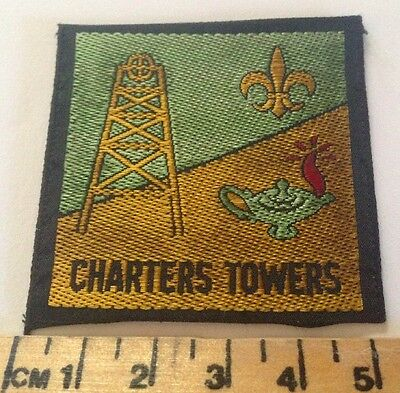 Vintage Charters Towers Scout Badge