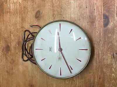 Old Vintage Smiths Sectric Electric Wall Clock