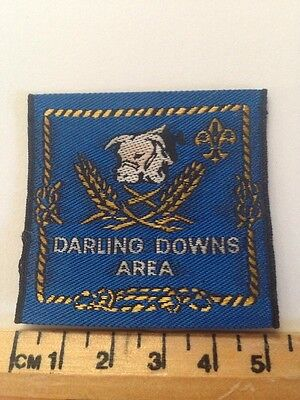 Vintage Darling Downs Area Scout Badge