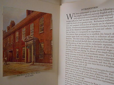 Book - Antique Design Of The Manor House Hitchin - In Superb Condition