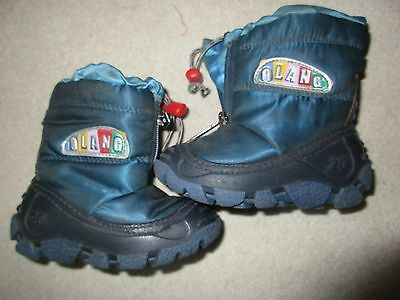 Olang fleece lined snow boot 19/20 (infant 3-4 UK, 4-5 US)