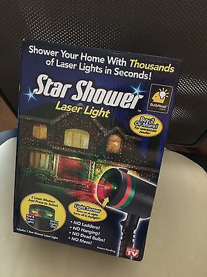 Star Shower Laser Light As Seen On TV Light Projector  5175
