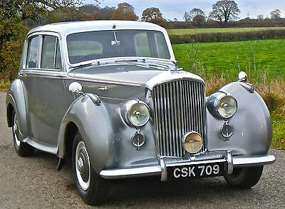 1952   BENTLEY R TYPE MANUAL Sports Saloon           last owner 30 years
