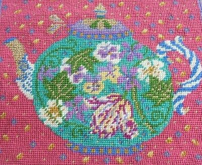 Ehrman Designer Candace Bahouth TEAPOT CUSHION or TEA COSY Tapestry Chart Only