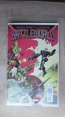 Secret Wars: Battleworld no. 2 (August 2015) - NEW, bagged and boarded.