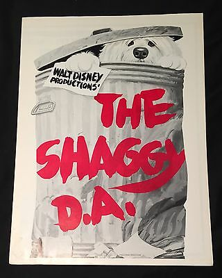 Original Disney SHAGGY DOG D.A. Press Book Never Used By Theater