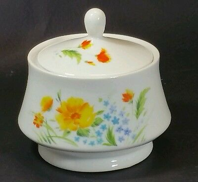 "Vintage Imperial China ""Just Spring"" Sugar Bowl #L5011 *MINT*"