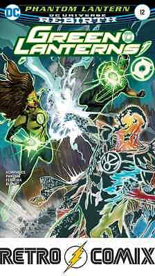 Dc Rebirth Green Lanterns #12 First Print New/unread Bagged & Boarded