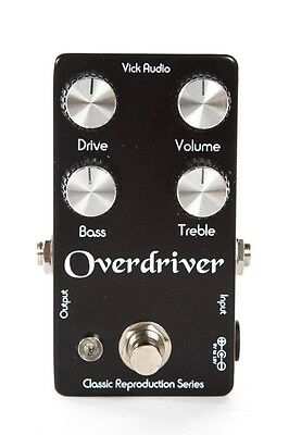 Vick Audio Overdriver Effects Pedal 1971 Colorsound Reproduction