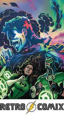 Dc Rebirth Green Lanterns #12 Lupacchino Variant New/unread Bagged & Boarded