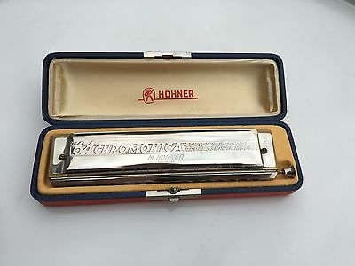 "Vintage Honor C Harmonica ""The 64 Chromonica"" 4 Octaves Professional Model"
