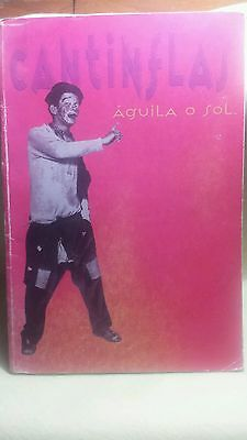 Book the life of Cantinflas, Aguila o sol printed in mexico 1993