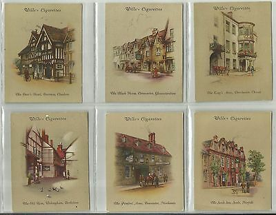 Wills Cigarette Cards - OLD INNS 2nd SERIES - Full set of 40