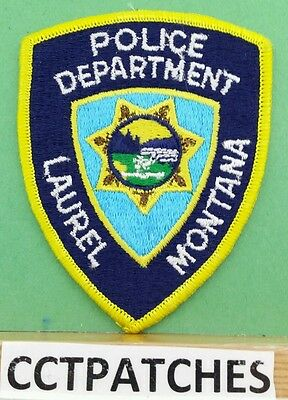 Laurel, Montana Police Shoulder Patch Mt