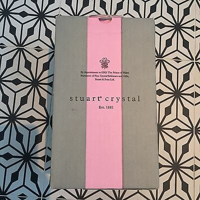 NEW Stuart Crystal Small Vase - Boxed