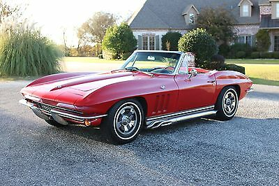 1965 Chevrolet Corvette  1965 Chevrolet Corvette CONVERTIBLE **4 speed** ~NEW TOP~