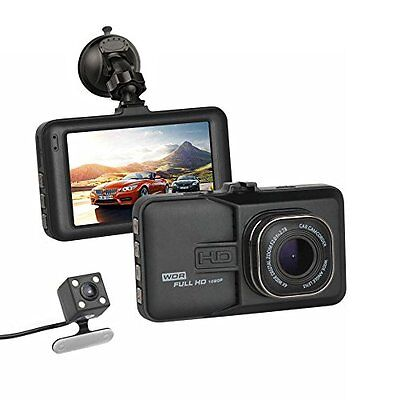 """Accfly Full HD 1080P 3.0"""" LCD Screen Car Video Dashcam DVR Recorder 170? Wide +"""