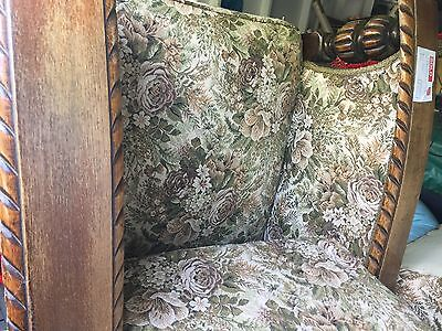 Antique Jacobean Style Lounge Suite
