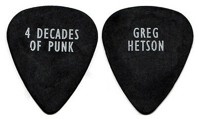 BAD RELIGION Guitar Pick : 2001 Tour - Greg Hetson - 4 Decades of Punk