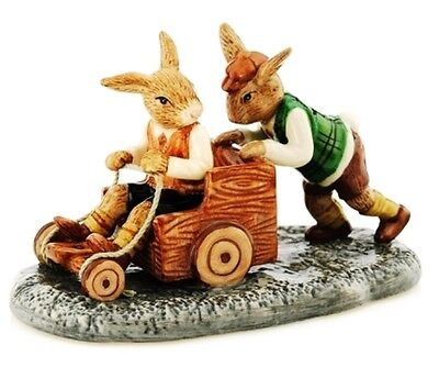 Royal Doulton Australiana limited edition Billycart Bunnykins DB491 new in box