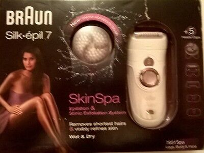 Silk-epil 7 SkinSpa - 7951 Wet&Dry Cordless Legs, Body, and Face Epilator and So