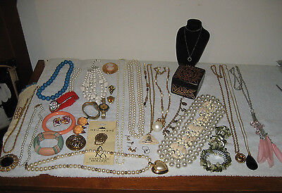 Bracelets, Earrings Necklaces,Pink Cameo Pin, Watches, Plus More!  LOOK!!!!!!
