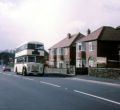 Original 35mm bus slide Sheffield Leyland PD2 YWB296