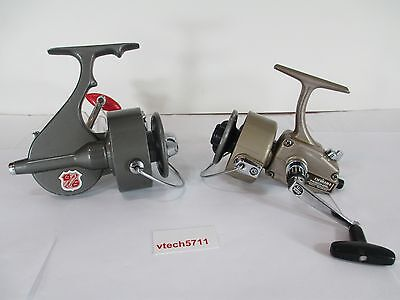 Lot Of 2 Fishing Reels Vintage Cadillac III & Daiwa 7450 HRL Ball Bearing