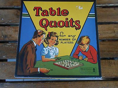 Vintage game Table Quoits