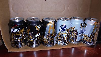 2  Pittsburgh Penguins  Beer Cans   2016 Edition