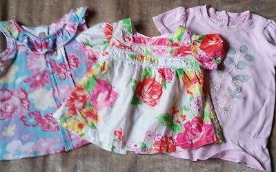 Cute Baby Girls FRED BARE - GAP- summer mixed lot. Size 0