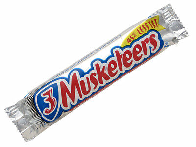3 Musketeers Delicious Milk Flavour Chocolate Bar - Directly Imported from USA