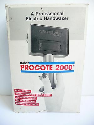 Daige Procote 2000 professional Electric Handwaxer with Wax