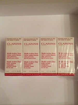 Clarins Multi Active Day Cream - For Dry Skin - 40 ml - NEW