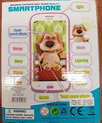 Baby Kids Child 3D bl Educational Learning Mobile Toy Musical Playing SmartPhone
