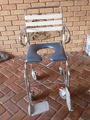 Mobile Wheeled Shower Commode Ex con Pickup Perth