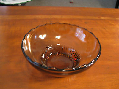 E.O. Brody Co. M2000 Brown Glass Candy Bowl