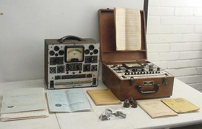 Precision Series 912 Electronamic Tube And Set Tester Lot Of 2