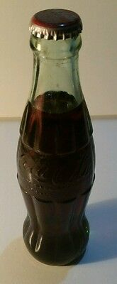Paducah Kentucky Coca Cola Coke Bottle Full Glass Patent 1923 Old Vintage Soda