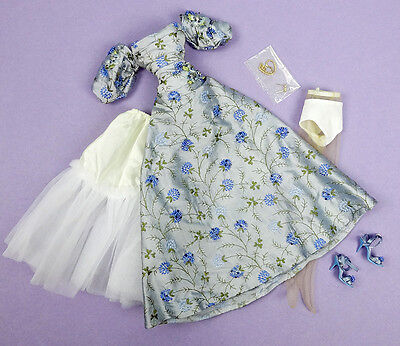 """TONNER SYDNEY LOVE IS BLUE Gown Dress Jewelry Tyler Ashleigh Kit 16"""" Doll Outfit"""