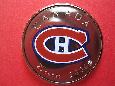 2006 Montreal Canadiens 25-Cent Coin Only From Hockey Set