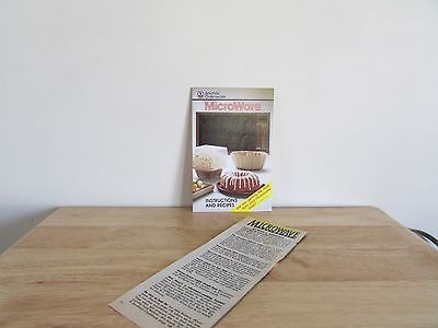 Anchor Ovenware Microware Instructions and Recipes + Microwave Cooking Tips Page
