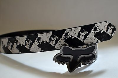 Fox Racing Girl Belt name OUTER LIMITES Reversible L Size W minor defective