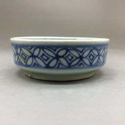 China pure hand painting flowers - blue and white porcelain bowl