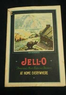 vintage jell-o recipe booklet