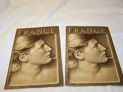 FRANCE 1939 TOURIST BOOKLET LOT Travel,Vacation,Honeymoon Collectible